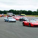 Off the line at The Supercar Event