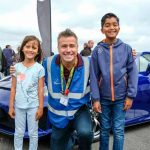 The Supercar Event presenter Craig Phillips with fans
