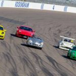 Around the bend at Rockingham Motor Speedway