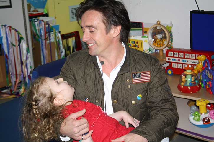 Ambassador Richard Hammond visits The Children's Trust