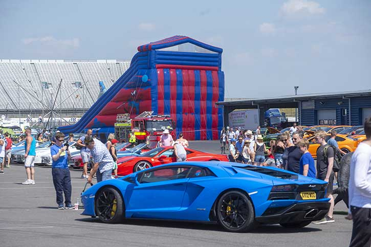 Attractions: there's more than just cars at The Supercar Event!