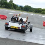 Caterham 7s rides at The Supercar Event