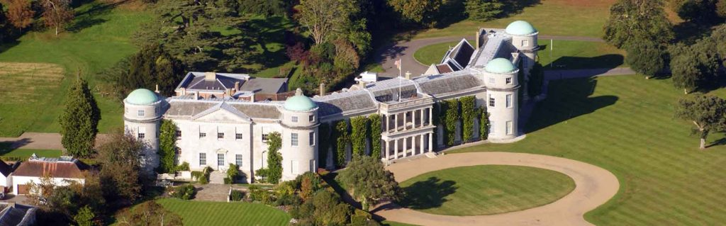 Goodwood House, West Sussex, England by Ian Stannard (CC 2.0)