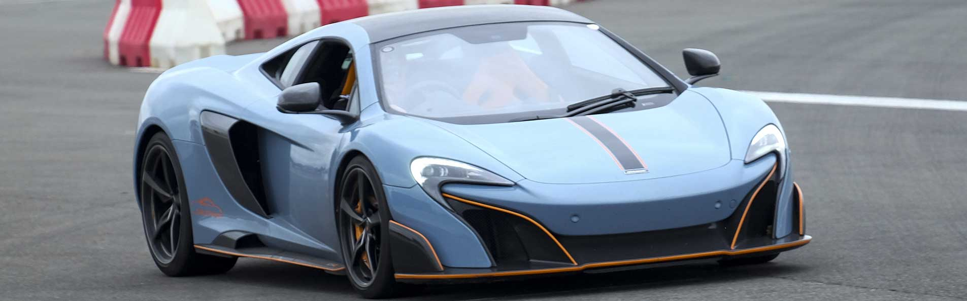 McLaren 675LT experience at The Supercar Event