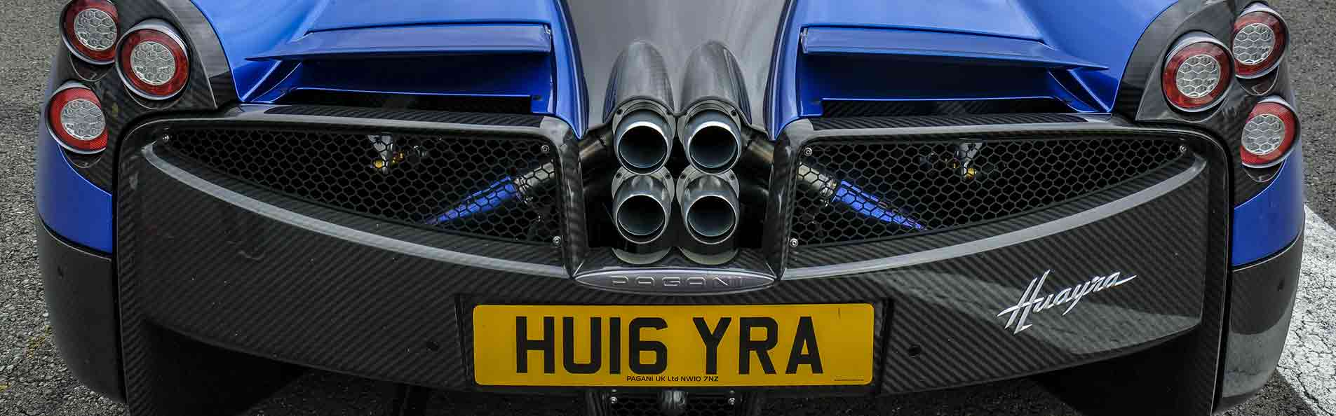The Pagani Huayra Hypercar at The Supercar Event