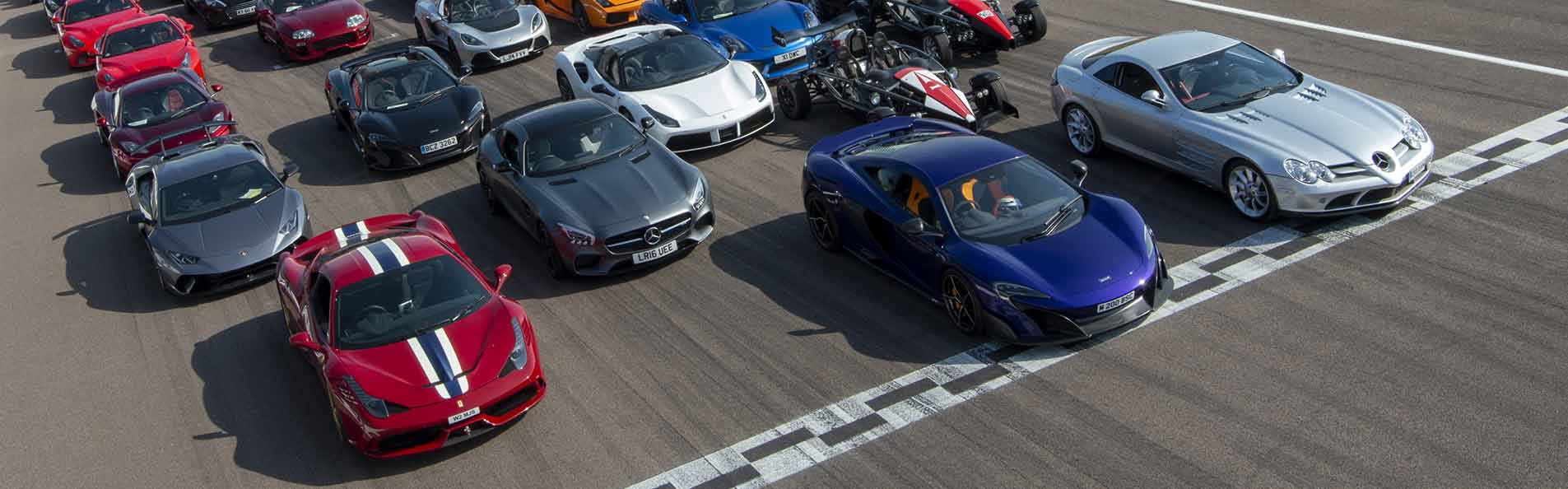 100s of supercars and hypercars take to the track every year at The Supercar Event